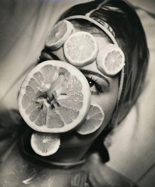 фруктовая маска, Салон красоты начала 20 века
