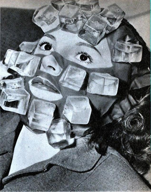 ледяная маска, Салон красоты начала 20 века