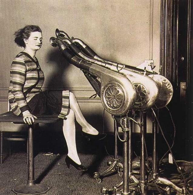 фаллаут фены, Салон красоты начала 20 века